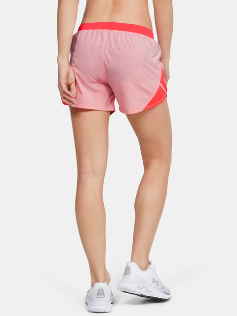 Kraťasy Under Armour W  Fly By 2.0 Short-RED