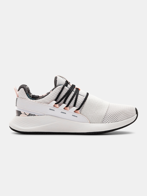 Boty Under Armour UA W Charged Breathe FN PRNT-WHT