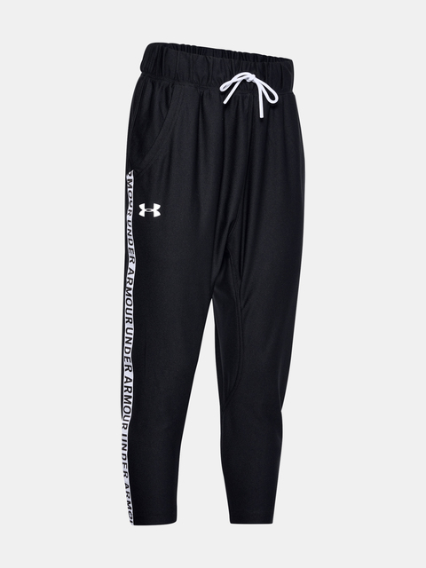 Tepláky Under Armour Infinity Wordmark Tape Pants-BLK