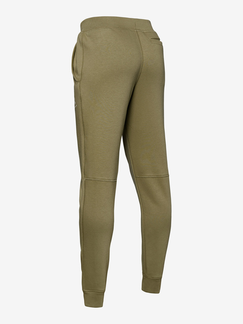 Tepláky Under Armour Cotton Fleece Joggers-Grn