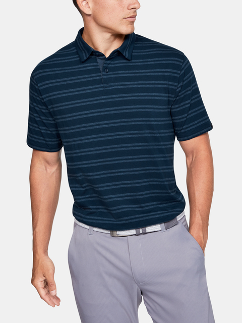 Tričko Under Armour CC Scramble Stripe-NVY