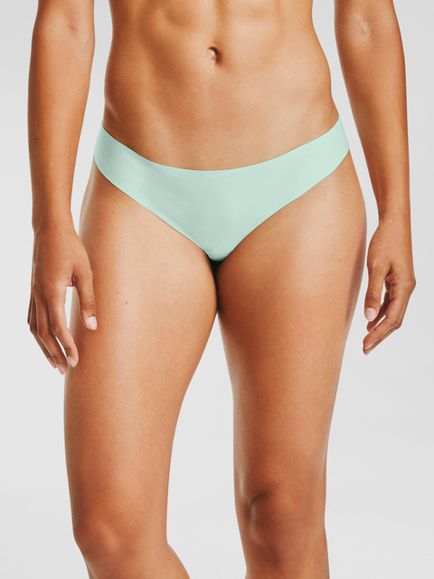 Kalhotky Under Armour PS Thong 3Pack Print-BLU