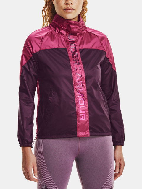 Bunda Under Armour Recover Woven Shine FZ Jkt-PPL