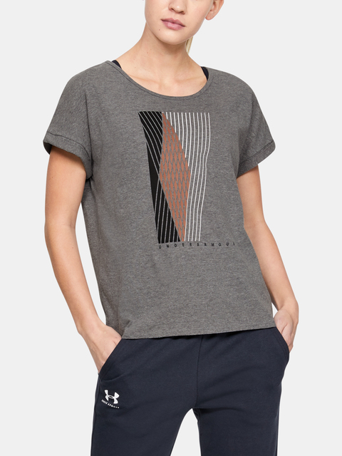 Tričko Under Armour GRAPHIC ENTWINED FASHION SSC-GRY