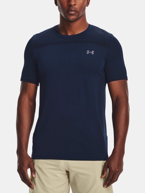 Tričko Under Armour Seamless SS-NVY