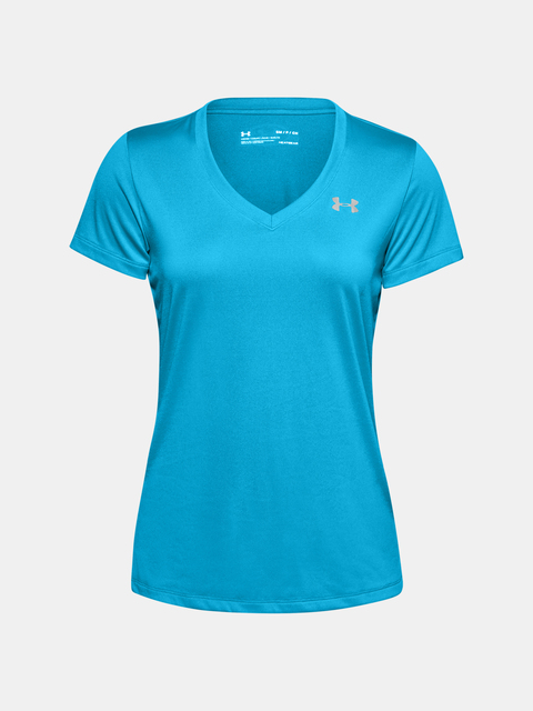 Tričko Under Armour Tech SSV - Solid-BLU