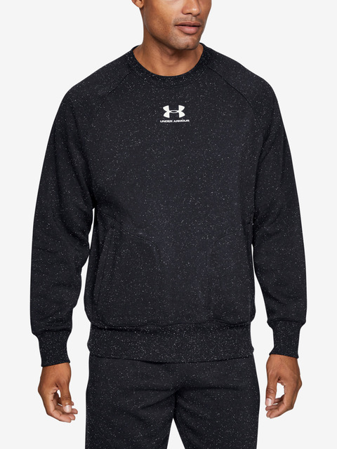 Mikina Under Armour SPECKLED FLEECE CREW-BLK