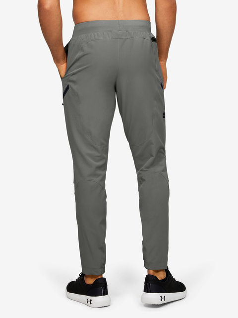 Tepláky Under Armour STRETCH WOVEN UTILITY CARGO PANT-GRN