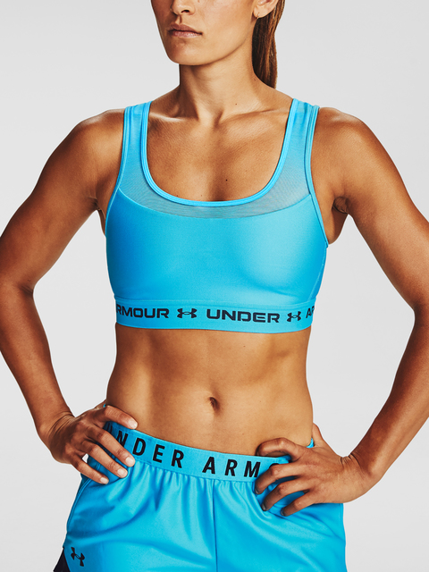 Podprsenka Under Armour Armour Mid Crossback MF Bra-BLU