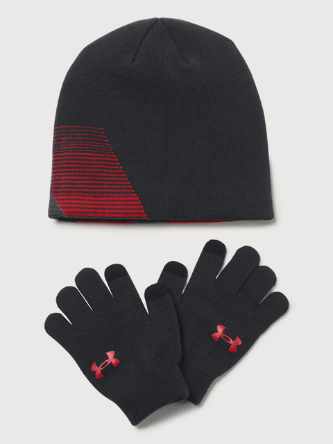 Čepice a rukavice Under Armour Boy\'s Beanie/Glove Combo