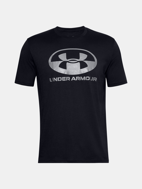 Tričko Under Armour UA LOCKER TAG WORDMARK SS-BLK