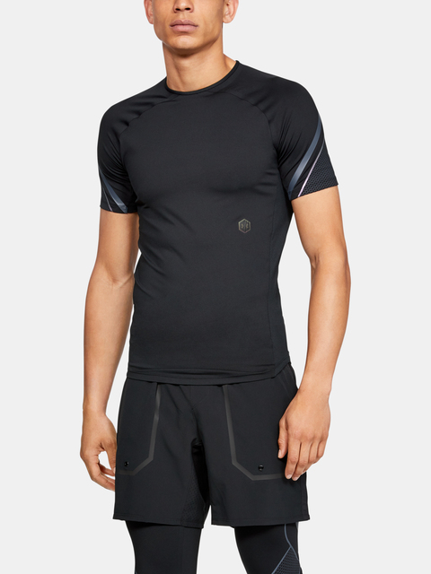 Kompresné tričko Under Armour Rush Graphic Ss-Blk