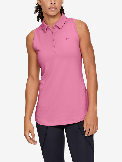 Tílko Under Armour  Zinger Sleeveless Polo-PNK