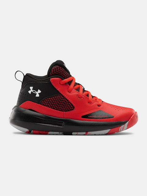 Boty Under Armour UA PS Lockdown 5-RED