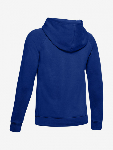 Mikina Under Armour Rival Logo Hoodie-Blu