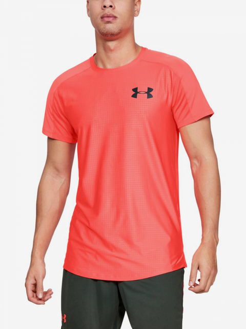 Tričko Under Armour Mk1 Ss Emboss-Red