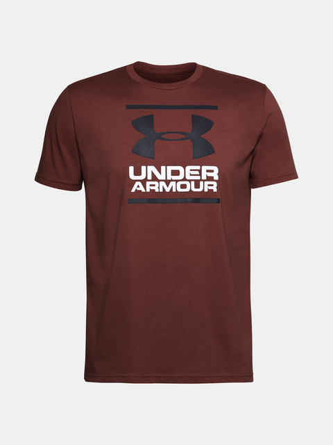 Tričko Under Armour UA GL Foundation SS T-RED