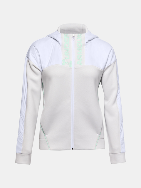 Mikina Under Armour Move FZ Hoodie-WHT