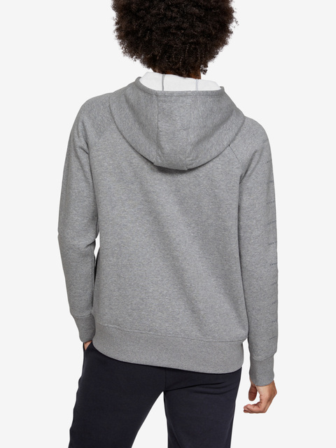 Mikina Under Armour Rival Fleece Sportstyle Lc Sleeve Graphi