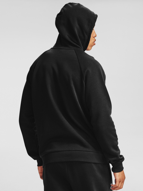 Mikina Under Armour UA Rival Fleece Box Logo HD-BLK