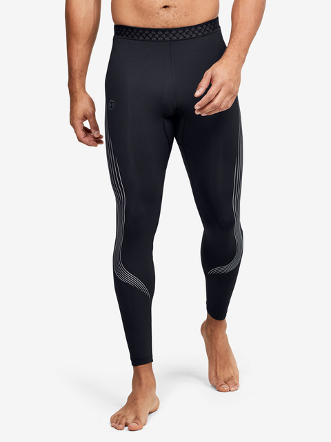 Legíny Under Armour M UA RUSH Run Stamina Tight-BLK