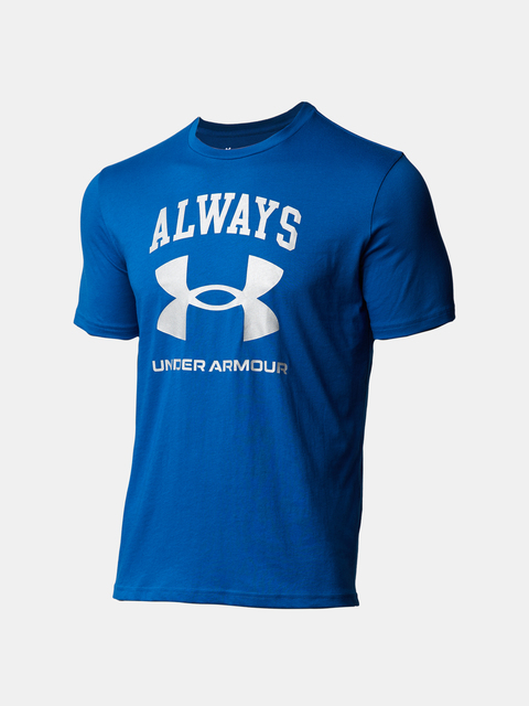 Tričko Under Armour UA ALWAYS UNDER ARMOUR SS-BLU