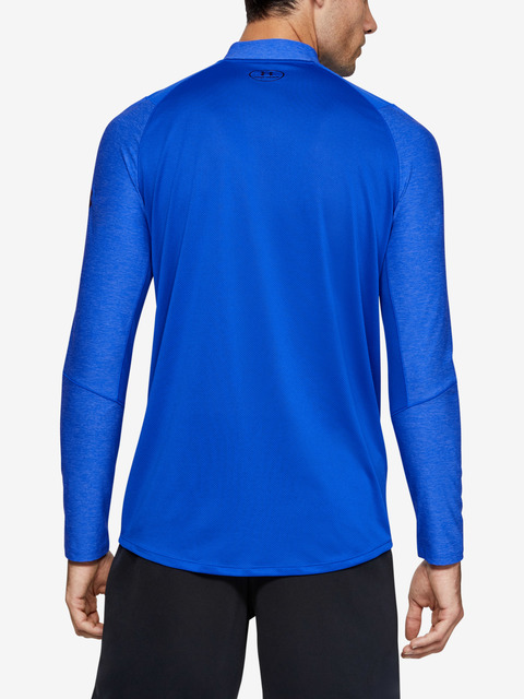 Tričko Under Armour MK1 1/4 Zip-BLU