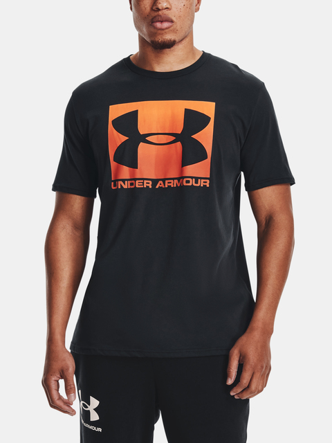 Tričko Under Armour UA BOXED SPORTSTYLE SS-BLK