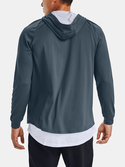 Mikina Under Armour TECH 2.0 FZ HOODIE-BLU