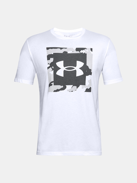Tričko Under Armour UA CAMO BOX LOGO SS-WHT