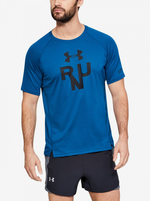 Tričko Under Armour Qualifier Glare Shortsleeve-Grn
