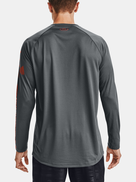 Tričko Under Armour  GRADIENT LOGO TECH LS