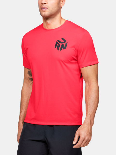 Tričko Under Armour M Get Out & Run Short Sleeve Tee