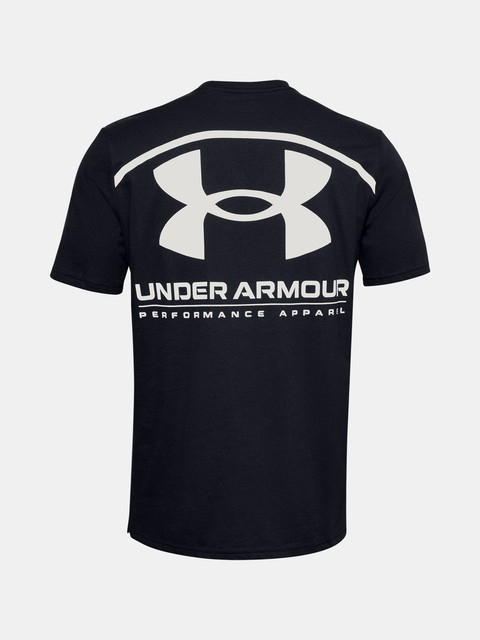 Tričko Under Armour PERFORMANCE BIG LOGO SS-BLK