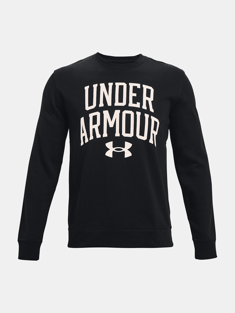 Mikina Under Armour UA RIVAL TERRY CREW-BLK