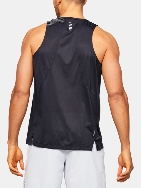 Tílko Under Armour M  Qlifier ISO-CHILL Singlet-BLK
