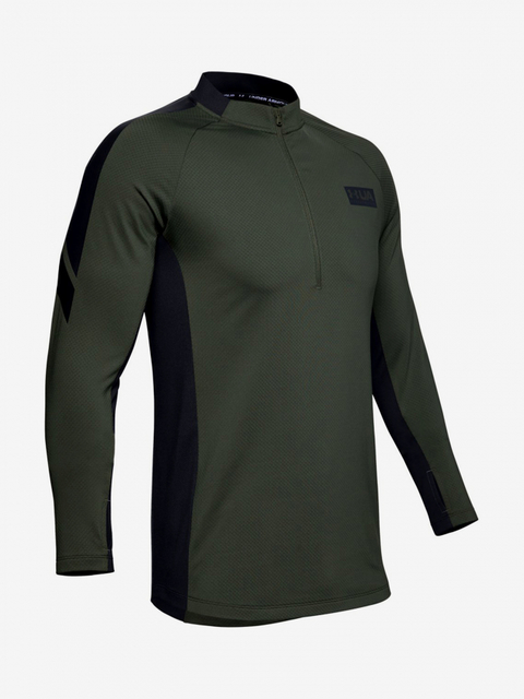 Tričko Under Armour Gametime Cg 1/2 Zip-Grn