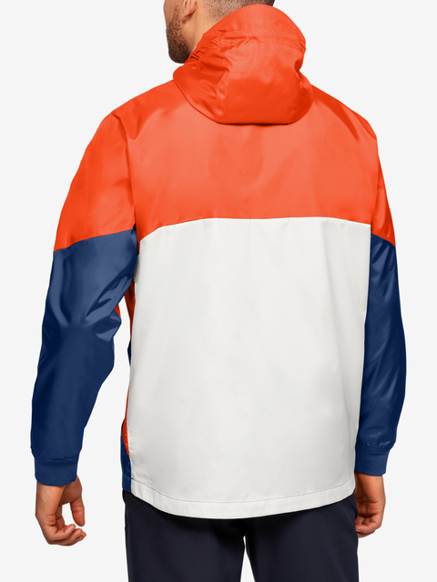 Bunda Under Armour FIELD HOUSE JACKET-WHT
