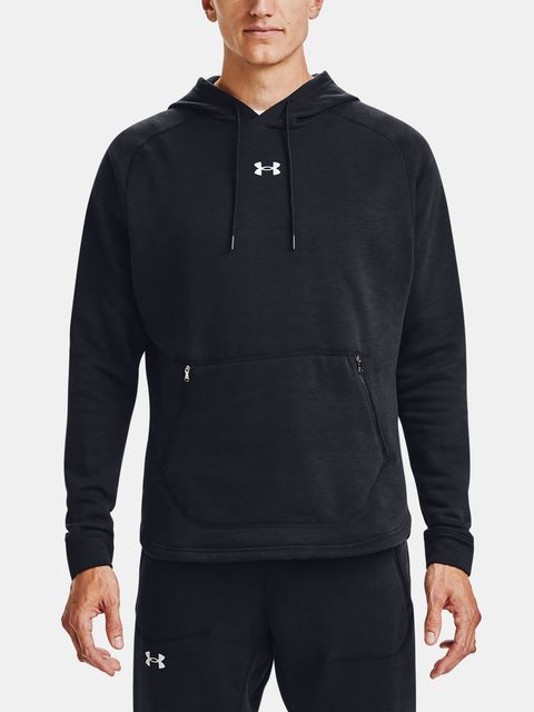 Mikina Under Armour Charged Cotton Fleece HD-BLK