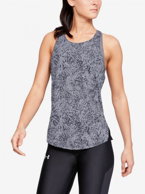 Tílko Under Armour Speed Stride Printed Tank-Gry