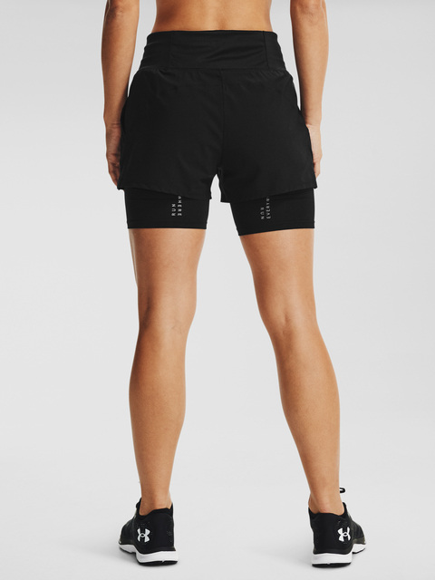 Kraťasy Under Armour Run Anywhere 2N1 Short-BLK