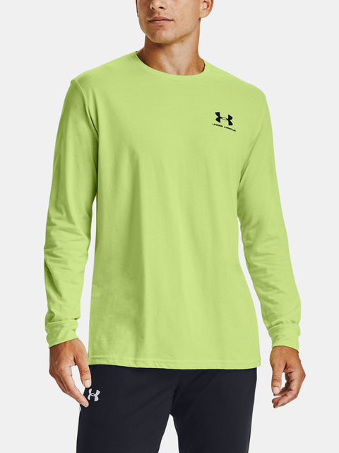 Tričko Under Armour SPORTSTYLE LEFT CHEST LS