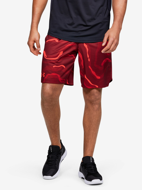 Kraťasy Under Armour MK1 Printed Shorts-RED