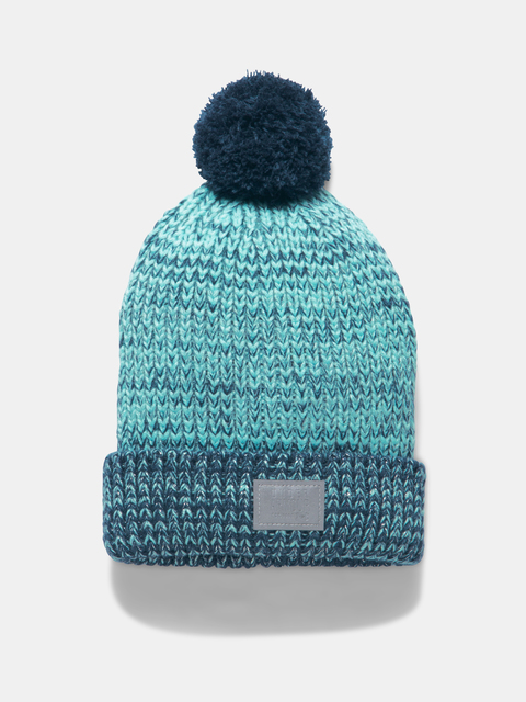 Čepice Under Armour GIRLS SHIMMER POM BEANIE