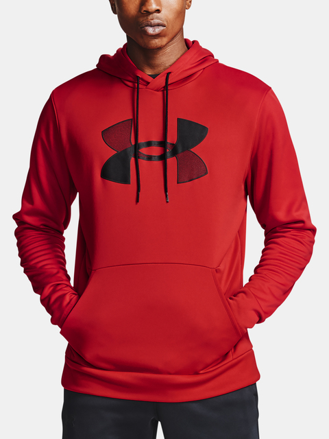 Mikina Under Armour Armour Fleece Big Logo HD-RED