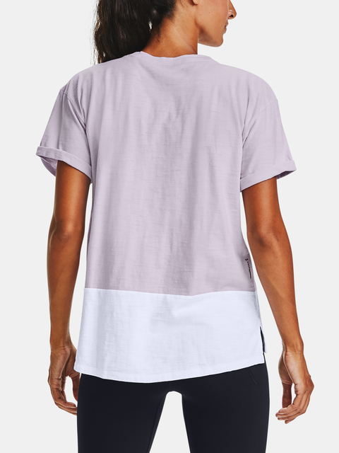 Tričko Under Armour Charged Cotton SS-PPL
