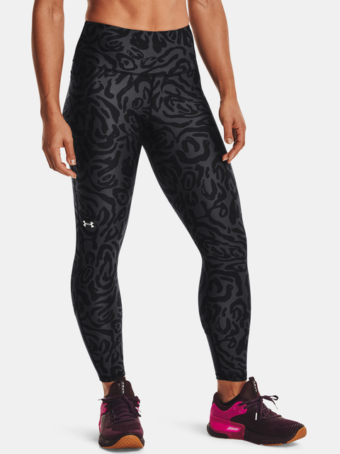Legíny Under Armour UA HG Amr TonalPrt 7/8PKT NS-BLK