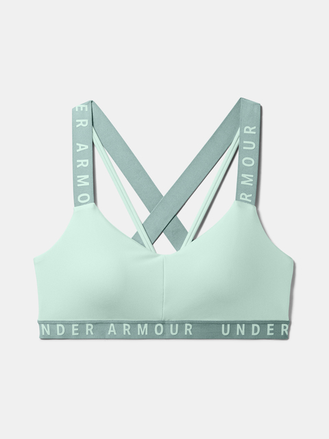Podprsenka Under Armour Wordmark Strappy Sportlette -BLU