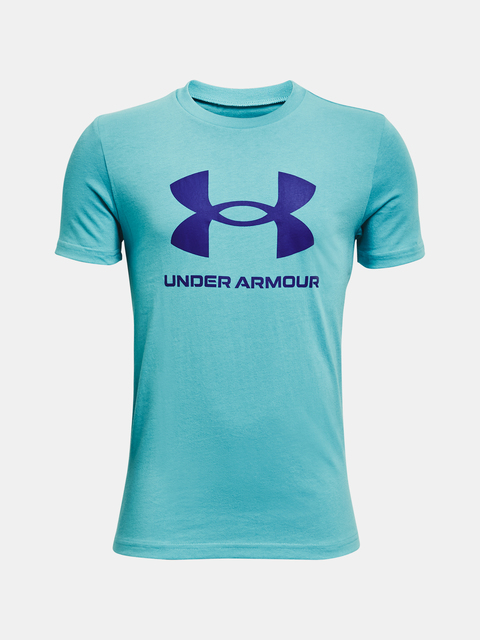 Tričko Under Armour Sportstyle Logo SS-BLU