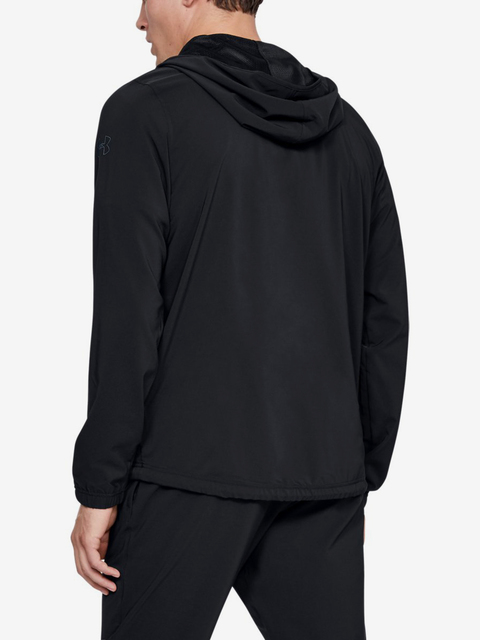 Bunda Under Armour Baseline Woven Jacket-Blk